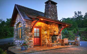 Catskill Farm Builders Stone Cottages Stone House